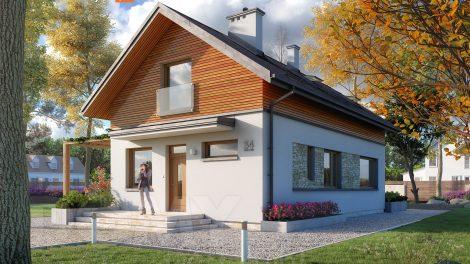 Czy warto wybrać projekt domu z poddaszem?